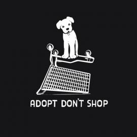 Dog Adopt Don't Shop Decal